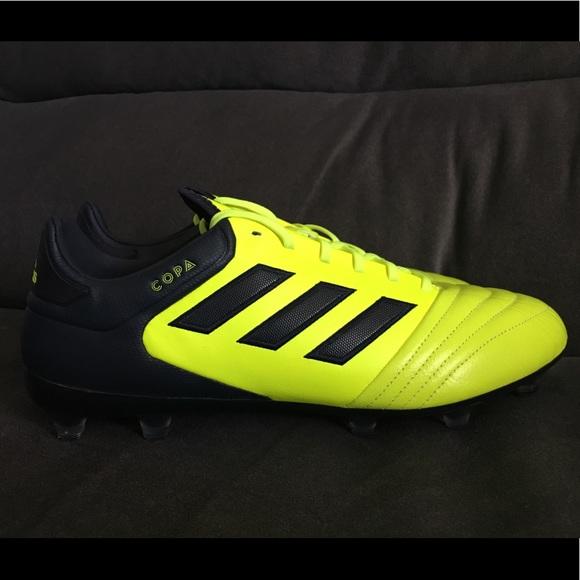 a38e734cb54 Adidas Copa 17.2 FG Soccer Yellow Mens size 11